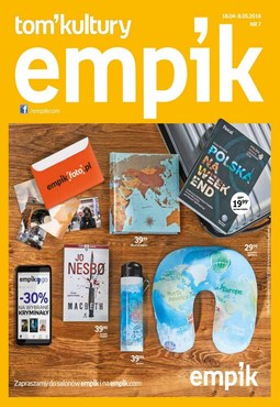 Gazetka promocyjna Empik.com, ważna od 18.04.2018 do 08.05.2018.