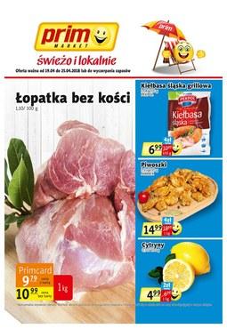 Gazetka promocyjna Prim Market, ważna od 19.04.2018 do 25.04.2018.