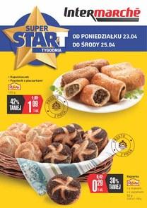 Gazetka promocyjna Intermarche Super, ważna od 23.04.2018 do 25.04.2018.