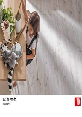 Gazetka promocyjna Drzwi i Podłogi VOX - Katalog podłóg