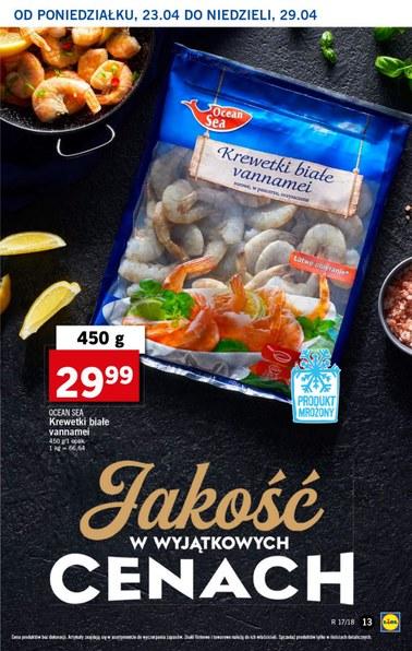 Gazetka promocyjna Lidl, ważna od 23.04.2018 do 25.04.2018.