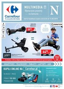 Gazetka promocyjna Carrefour, ważna od 24.04.2018 do 12.05.2018.
