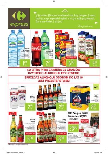 Gazetka promocyjna Carrefour Express, ważna od 24.04.2018 do 30.04.2018.