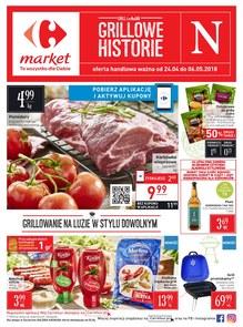 Gazetka promocyjna Carrefour Market, ważna od 24.04.2018 do 06.05.2018.