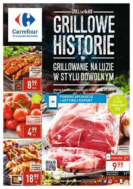 Gazetka promocyjna Carrefour - Grillowe historie - ważna od 24-04-2018