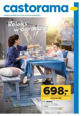 Gazetka promocyjna Castorama - Relaks w ogrodzie  - ważna od 23-04-2018