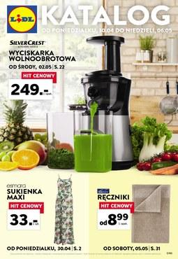 Gazetka promocyjna Lidl, ważna od 30.04.2018 do 06.05.2018.
