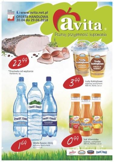 Gazetka promocyjna Avita, ważna od 20.04.2018 do 29.04.2018.