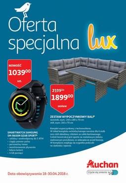 Gazetka promocyjna Auchan, ważna od 18.04.2018 do 30.04.2018.