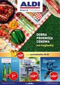 Gazetka promocyjna Aldi - Dobra prognoza cenowa na majówkę - ważna do 06-05-2018