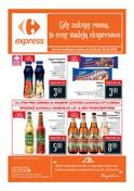 Gazetka promocyjna Carrefour Express - Gdy zakupy rosną, to ceny maleją ekspresowo - ważna do 30-04-2018