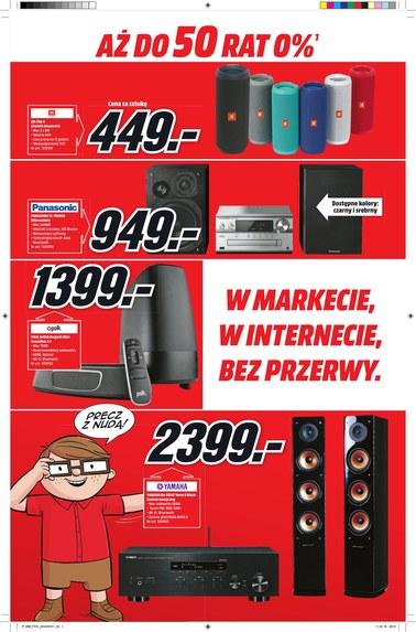 Gazetka promocyjna Media Markt, ważna od 19.04.2018 do 26.04.2018.