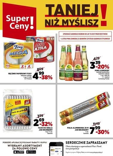 Gazetka promocyjna Piotr i Paweł, ważna od 24.04.2018 do 30.04.2018.