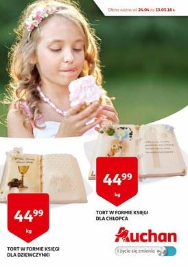 Gazetka promocyjna Auchan - Torty- oferta