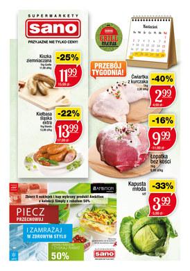 Gazetka promocyjna Sano - Grill menu