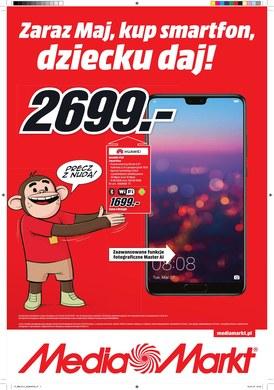 Gazetka promocyjna Media Markt - Zaraz maj, kup smartfon, dziecku daj