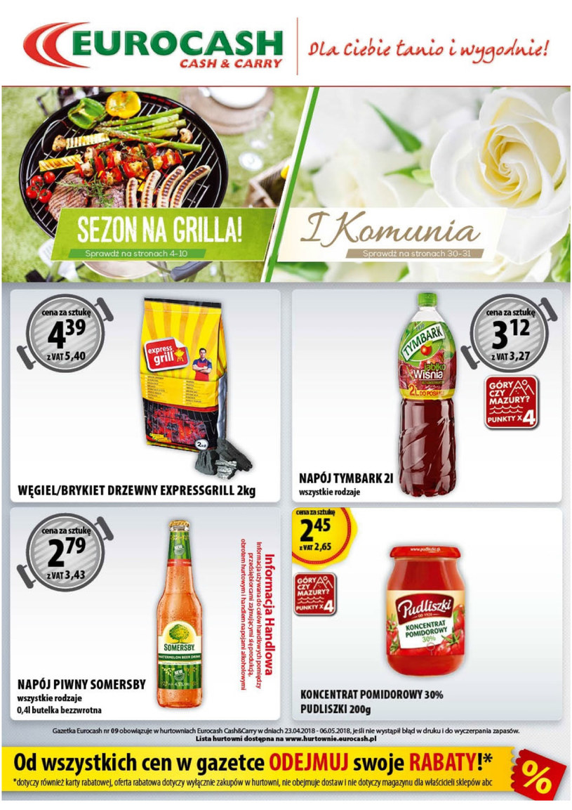 Eurocash Cash&Carry: 6 gazetki