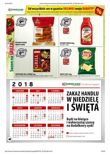 Gazetka promocyjna Eurocash Cash&Carry, ważna od 23.04.2018 do 06.05.2018.