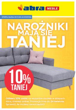 Gazetka promocyjna Abra, ważna od 19.04.2018 do 24.04.2018.