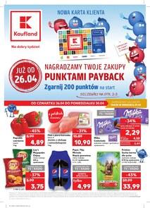Gazetka promocyjna Kaufland, ważna od 26.04.2018 do 30.04.2018.
