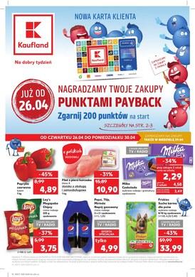 Gazetka promocyjna Kaufland - Nagradzamy twoje zakupy punktami payback