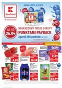 Gazetka promocyjna Kaufland - Nagradzamy twoje zakupy punktami payback - ważna do 30-04-2018