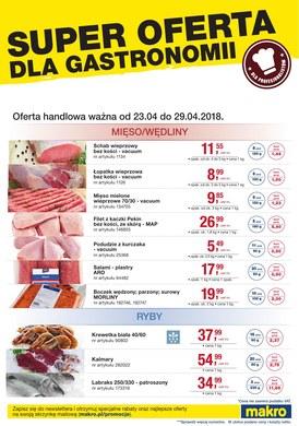 Gazetka promocyjna Makro Cash&Carry - Super oferta dla gastronomii