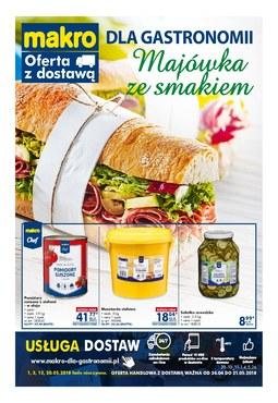 Gazetka promocyjna Makro Cash&Carry, ważna od 24.04.2018 do 21.05.2018.