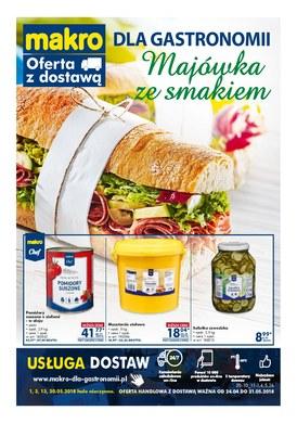 Gazetka promocyjna Makro Cash&Carry - Dla gastronomii - majówka ze smakiem