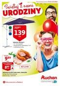 Gazetka promocyjna Auchan - Świętuj z nami urodziny - ważna do 04-05-2018