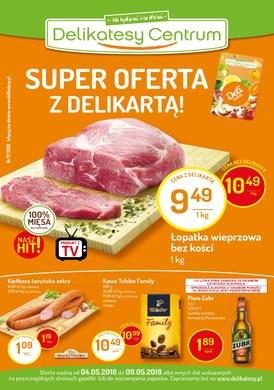 Gazetka promocyjna Delikatesy Centrum - Super oferta z Delikartą