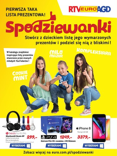 Gazetka promocyjna RTV EURO AGD, ważna od 25.04.2018 do 31.05.2018.