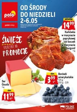 Gazetka promocyjna POLOmarket, ważna od 02.05.2018 do 06.05.2018.