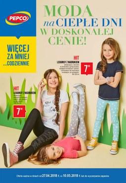 Gazetka promocyjna Pepco, ważna od 27.04.2018 do 10.05.2018.