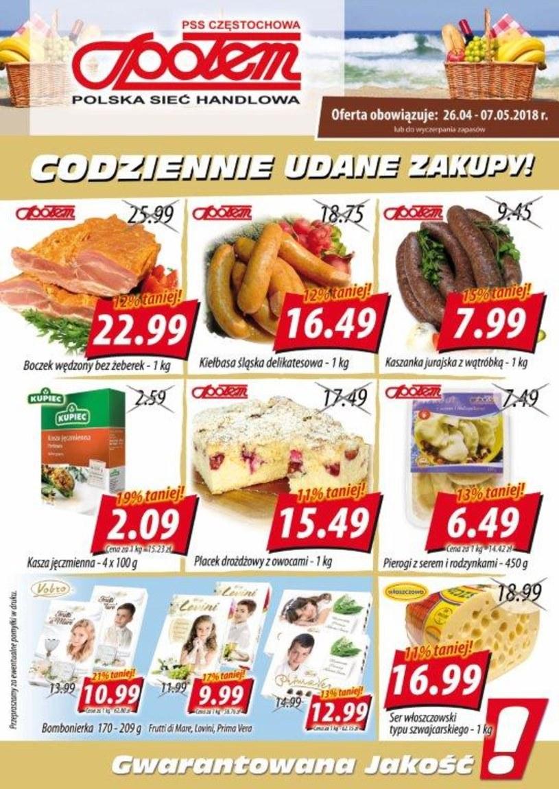 PSS Społem Częstochowa: 2 gazetki