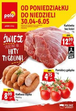 Gazetka promocyjna POLOmarket, ważna od 30.04.2018 do 06.05.2018.