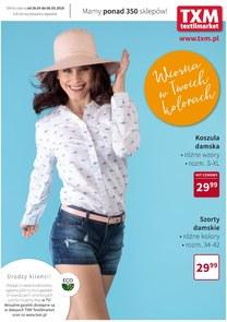 Gazetka promocyjna Textil Market, ważna od 26.04.2018 do 08.05.2018.