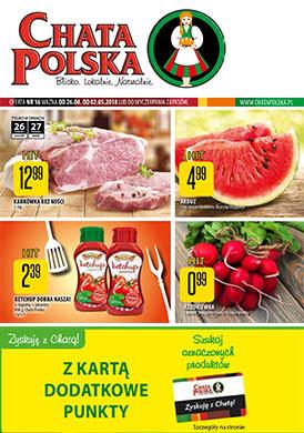 Gazetka promocyjna Chata Polska - Blisko. Lokalnie. Normalnie