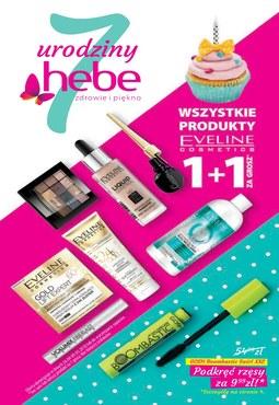 Gazetka promocyjna Hebe, ważna od 26.04.2018 do 09.05.2018.