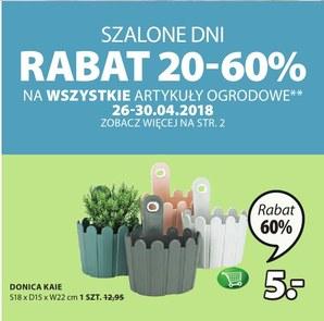 Gazetka promocyjna Jysk, ważna od 26.04.2018 do 09.05.2018.