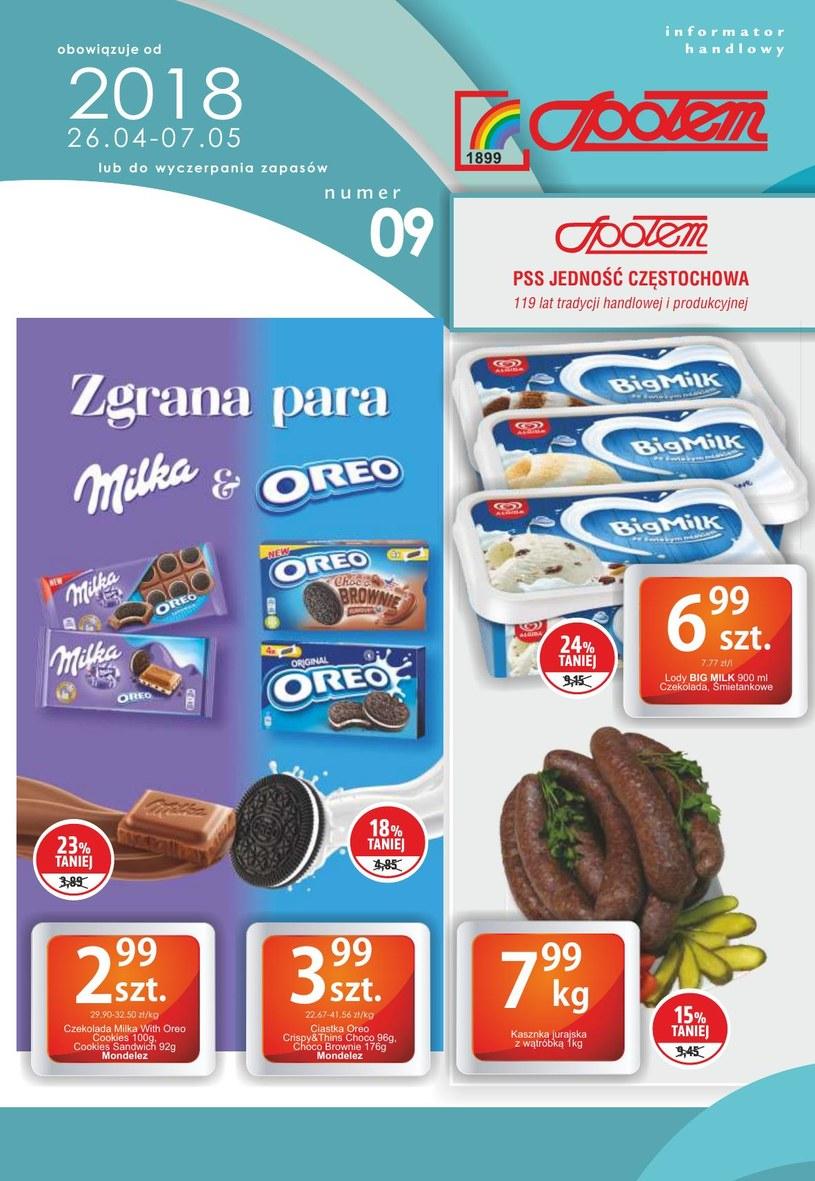 PSS Społem Częstochowa: 3 gazetki