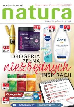 Gazetka promocyjna Drogerie Natura, ważna od 26.04.2018 do 09.05.2018.