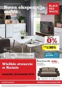 Gazetka promocyjna Black Red White - Nowa ekspozycja mebli - ważna do 30-04-2018