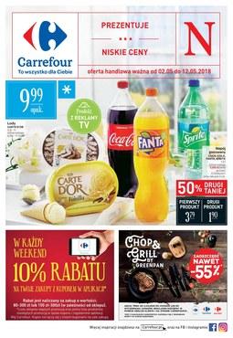 Gazetka promocyjna Carrefour, ważna od 02.05.2018 do 12.05.2018.