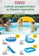 Gazetka promocyjna Tesco Hipermarket - Letnie przyjemności w Twoim ogrodzie