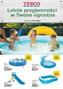 Gazetka promocyjna Tesco Hipermarket - Letnie przyjemności w Twoim ogrodzie - ważna do 24-05-2018