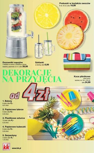 Gazetka promocyjna KIK, ważna od 16.05.2018 do 16.06.2018.