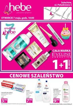 Gazetka promocyjna Hebe, ważna od 07.05.2018 do 07.05.2018.