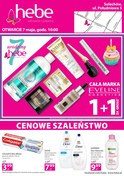 Gazetka promocyjna Hebe - Cenowe szaleństwo  - ważna do 07-05-2018