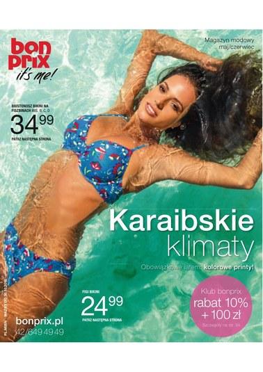 Gazetka promocyjna BonPrix, ważna od 01.05.2018 do 30.10.2018.